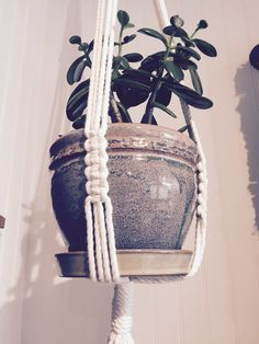 Vintage-Inspired Macrame Plant Hanger
