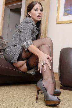 Women having sex in nylons and heels