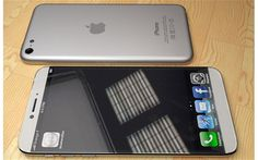 Mock-up of what the iPhone 6 could look like