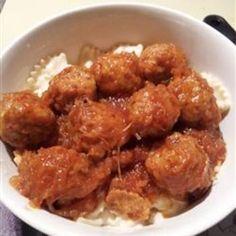 Sweet and Sour Meatballs III