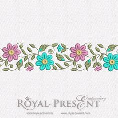 Free Machine Embroidery Designs – Royal Present Embroidery