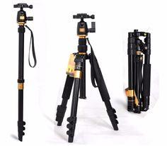 Portable 10KG bear aluminium monopod stand professional camera tripods for slr video clip tripodes para reflex dslr tripod Digital Guru Shop