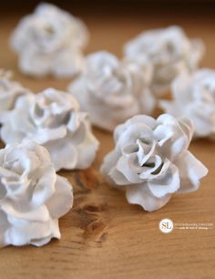 Plaster Dipped Flowers #michaelsmakers