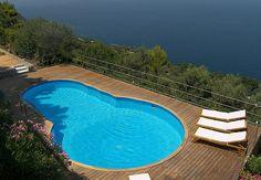 Luxury Capri villa with pool and sea views