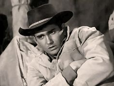 """'Oh he means it' — Michael Landon plays Clay, a kid who can't do anything right by his father (""""Wanted: Dead or Alive"""", The Legend, S01E27, 1959)"""