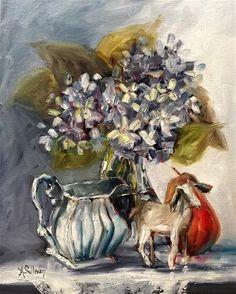 "Daily Paintworks - ""Baa Baa Black Sheep still life painting by Alabama Artist…"