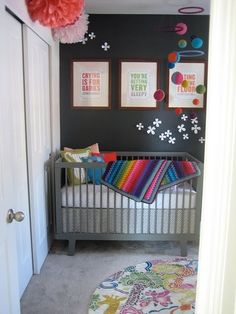 Love how they grey cot would tie in with my colour scheme.