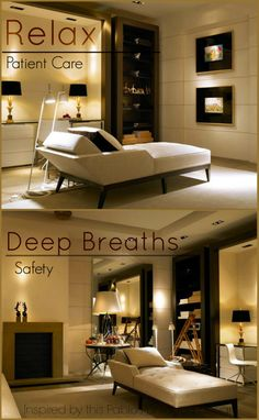 Inspirations for Creating a Place of Comfort For Your Clients (#Therapy)