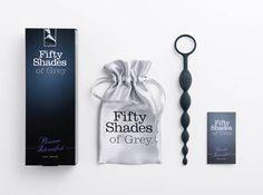 La colección de juguetes eróticos Cincuenta Sombras de Grey (Fifty Shades of Grey) nos proporciona un Sexytoy unisex de lo más estimulante. Unas bolas anales fabricadas en suave silicona de primera calidad.