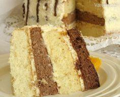 Piškotový dort - recept | Varecha.sk Vanilla Cake, Food, Recipes, Mascarpone, Syrup, Meal, Eten, Recipies, Meals