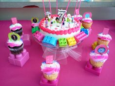 Our new party theme:  Lego Friends  Lilly's 7th Birthday