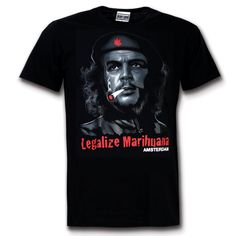 Amsterdam Legalize Marihuana T-shirt - Hollandgiftshop.com
