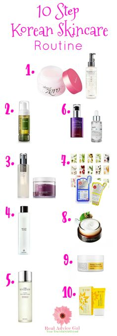 Do you want a healthy, glowing skin? Check out the 10 step Korean skin care routine