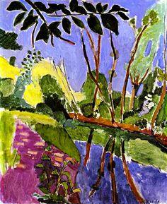 Henri Matisse (French, 1869-1954), The Bank, 1907, oil on canvas, Kunstmuseum Basel, Basel, Switzerland