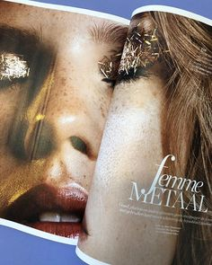 Almost weekend!  #femmemetaal #ELLEdecember #makeuponfleek #beauty #inspiration via ELLE HOLLAND MAGAZINE OFFICIAL INSTAGRAM - Fashion Campaigns  Haute Couture  Advertising  Editorial Photography  Magazine Cover Designs  Supermodels  Runway Models