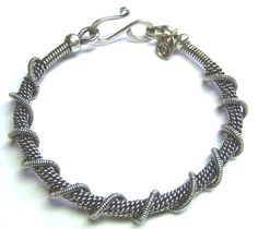 Twisted & Coiled Wire Bangle | JewelryLessons.com