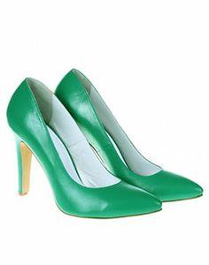 Pantofi eleganti de dama cu toc inalt Wedding Shoes Bride, Wedding Bows, Bride Shoes, Bridesmaid Shoes, Pointy Toe Flats, Pumps, Heels, Ankle Strap, Dress Up