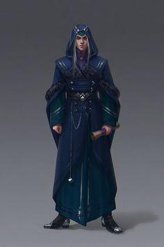 Games Workshop Warhammer High Elf Archmage Mage Sorcerer Cloak Bit New Fantasy