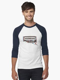 213708a4b Buy  Hoonigan racing division red blue white  by MimieTrouvetou as a T-Shirt