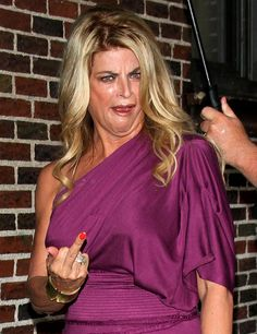 The Kirstie Alley | The 43 Types Of Celebrity Middle Fingers