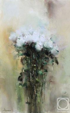 Трубанов Виталий. Розы белые