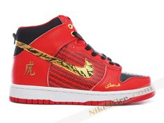 new arrival 03d4e 85143 Nike Dunk High SBTG Years Of The Tiger Red Black Nike Outlet, Jordan Outlet,