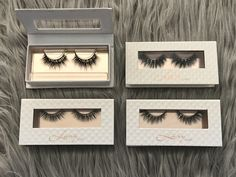 Luxy Lash Mink Lashes come with a magnetic closure box to store your lashes in! Shop: www.luxy-lash.com