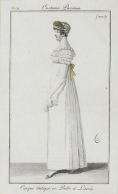 Journal des dames et des modes / Costume Parisien: 20 Septembre, 1809 (b)