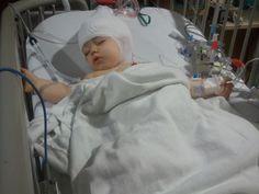 My baby Lexi!  Epilepsy Surgery Aug 2010