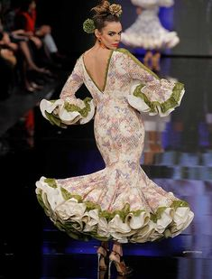 4e236be36 23 imágenes increíbles de Vestidos flamenca
