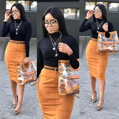 Work Outfits For African American Women Casual Work Outfits, Business Casual Outfits, Classy Outfits, Stylish Outfits, Fall Outfits, Fashion Outfits, Summer Dress Outfits, Casual Dresses, Professional Attire