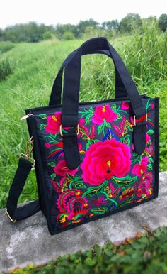 A personal favourite from my Etsy shop https://www.etsy.com/sg-en/listing/483014916/bohemian-tote-bag-hmong-embroidery-bag
