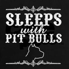 pit bulls I miss sleeping with kayno!!