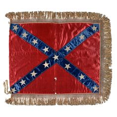 The 15-star Confederate Battle Flag Of General Lloyd Tilghman Of Maryland