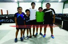 Darío Arce, Mauricio Cayetano, Diego Fuentes y Jefry Domínguez