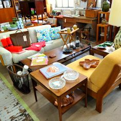 Antiques and Thrift Shops