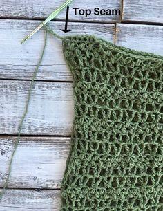 Easy Crochet Top~ The Ivy Tee~ Free Pattern ~ Cactus & Lace Designs Skirt Pattern Free, Crochet Skirt Pattern, Crochet Jumper, Free Pattern, Crochet Patterns, Crochet Summer Tops, Easy Crochet, Crochet Tops, Crochet Ideas