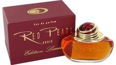 Red Pearl Perfume Eau de Parfum EDP 3.4 oz by Paris Bleus for Women NIB #ParisBleu