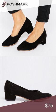 Vagabond Jamilla Black Suede Heel Brand new black Vagabond heels. Purchased from Asos. Vagabond Shoes Flats & Loafers