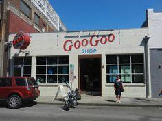The Goo Goo shop, Downtown, Nashville.