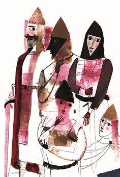 Edelvives, El conde Lucanor, Javier Zabala, álbum ilustrado, ilustración, literatura infantil y juvenil, lij.