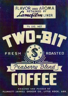vintage coffee - would make a nice bit of kitchen decor