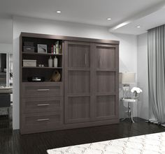 "Outstanding ""murphy beds"" info is offered on our internet site. Read more and you will not be sorry you did. Full Murphy Bed, Murphy Bed Desk, Murphy Bed Plans, Murphy Bed Office, Build A Murphy Bed, Queen Murphy Bed, Design Seeds, Modern Murphy Beds, Upholstered Platform Bed"