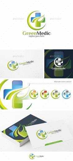 Green Medic / Health - Logo Template - Symbols Logo Templates