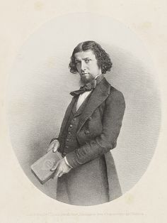 Lithograph of George Dawson, 1850s