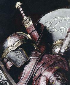 sword, shield & armor