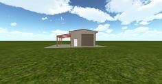Cool 3D #marketing http://ift.tt/2eD0HNu #barn #workshop #greenhouse #garage #roofing #DIY