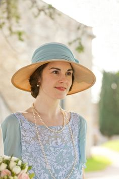 From Flapper to Bride: The Looks of Lady Mary on Season 3 of 'Downton Abbey'