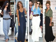 maxi skirt outfits 2013