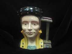 Catherine Parr Royal Doulton Mug D 6664 by MyRedFlamingo on Etsy, sold